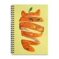Orange Cat - spiral-notebook - small view