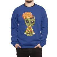 Just Here For Pizza - crew-sweatshirt - small view