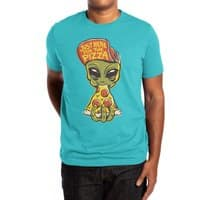 Just Here For Pizza - mens-extra-soft-tee - small view