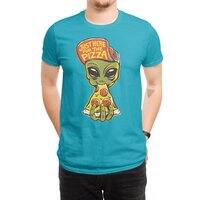 Just Here For Pizza - mens-regular-tee - small view