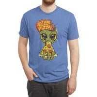 Just Here For Pizza - mens-triblend-tee - small view