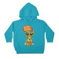 Just Here For Pizza - toddler-pullover-hoody - small view