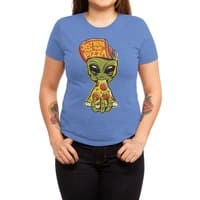 Just Here For Pizza - womens-triblend-tee - small view