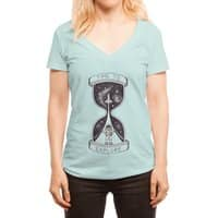 Time to Explore - womens-deep-v-neck - small view