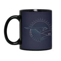 Blue Jay - black-mug - small view