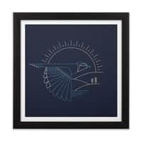 Blue Jay - black-square-framed-print - small view