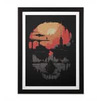 Echo - black-vertical-framed-print - small view