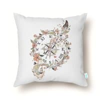 Au Revoir - throw-pillow - small view