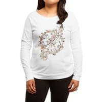 Au Revoir - womens-long-sleeve-terry-scoop - small view