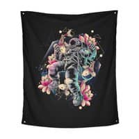 Deep Space - indoor-wall-tapestry-vertical - small view
