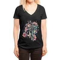 Deep Space - womens-deep-v-neck - small view