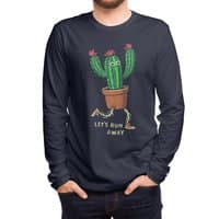 Let's run away - mens-long-sleeve-tee - small view