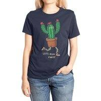 Let's run away - womens-extra-soft-tee - small view