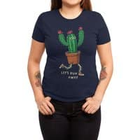 Let's run away - womens-triblend-tee - small view