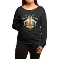 Intergalactic Get Down - womens-long-sleeve-terry-scoop - small view