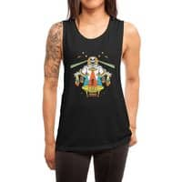 Intergalactic Get Down - womens-muscle-tank - small view