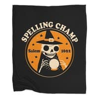 Spelling Champ - blanket - small view