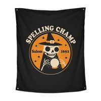 Spelling Champ - indoor-wall-tapestry-vertical - small view