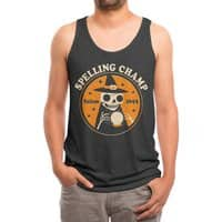 Spelling Champ - mens-triblend-tank - small view