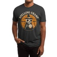 Spelling Champ - mens-triblend-tee - small view