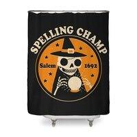 Spelling Champ - shower-curtain - small view
