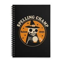 Spelling Champ - spiral-notebook - small view