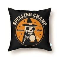 Spelling Champ - throw-pillow - small view