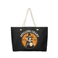 Spelling Champ - weekender-tote - small view