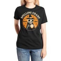Spelling Champ - womens-extra-soft-tee - small view