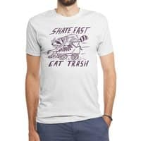 SKATE FAST EAT TRASH - mens-triblend-tee - small view