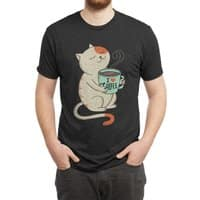 Cat - mens-triblend-tee - small view