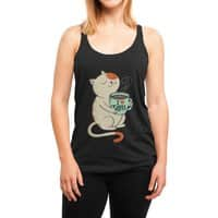 Cat - womens-triblend-racerback-tank - small view