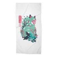 Ukiyo e Princess - beach-towel - small view