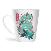 Ukiyo e Princess - latte-mug - small view