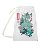 Ukiyo e Princess - laundry-bag - small view