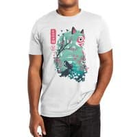 Ukiyo e Princess - mens-extra-soft-tee - small view