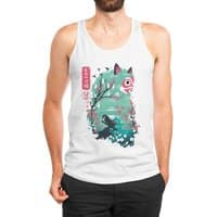 Ukiyo e Princess - mens-jersey-tank - small view