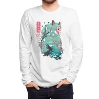 Ukiyo e Princess - mens-long-sleeve-tee - small view