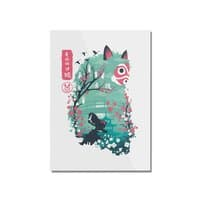 Ukiyo e Princess - vertical-mounted-acrylic-print - small view