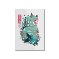 Ukiyo e Princess - vertical-mounted-aluminum-print - small view