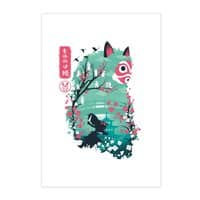 Ukiyo e Princess - vertical-print - small view
