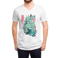 Ukiyo e Princess - vneck - small view