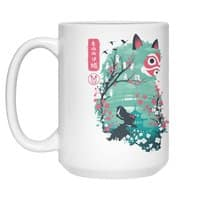 Ukiyo e Princess - white-mug - small view