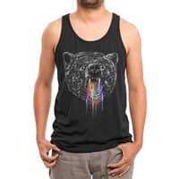 Wild Bear - mens-triblend-tank - small view