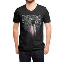 Wild Bear - vneck - small view