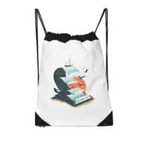 Waves of Knowledge - drawstring-bag - small view