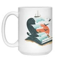Waves of Knowledge - white-mug - small view