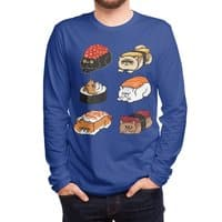 Sushi Persian Cat - mens-long-sleeve-tee - small view