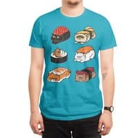 Sushi Persian Cat - mens-regular-tee - small view
