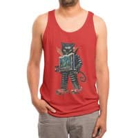 Nightmare Machine - mens-triblend-tank - small view